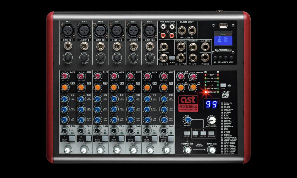Mixer AST-6FX